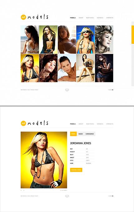ADOBE Photoshop Template 35773 Home Page Screenshot