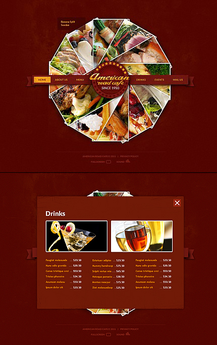 ADOBE Photoshop Template 35781 Home Page Screenshot