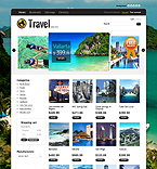 Travel PrestaShop Template 35788
