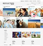 Art & Photography osCommerce  Template 35793