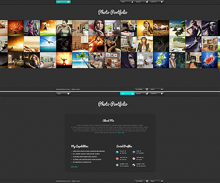 ADOBE Photoshop Template 35841 Home Page Screenshot