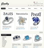 Jewelry ZenCart  Template 35885