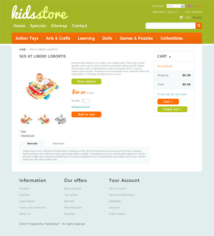 ADOBE Photoshop Template 35888 Home Page Screenshot