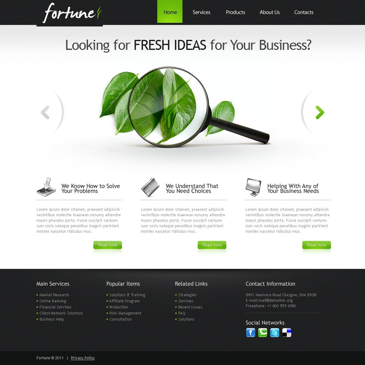 Business joomla template 35808 for Template monstre