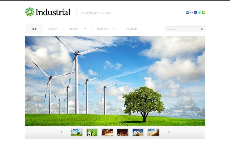 PSD Vorlage für Industrie  New Screenshots BIG