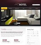 Hotels PSD  Template 35932