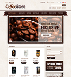 Cafe & Restaurant PrestaShop Template 35962