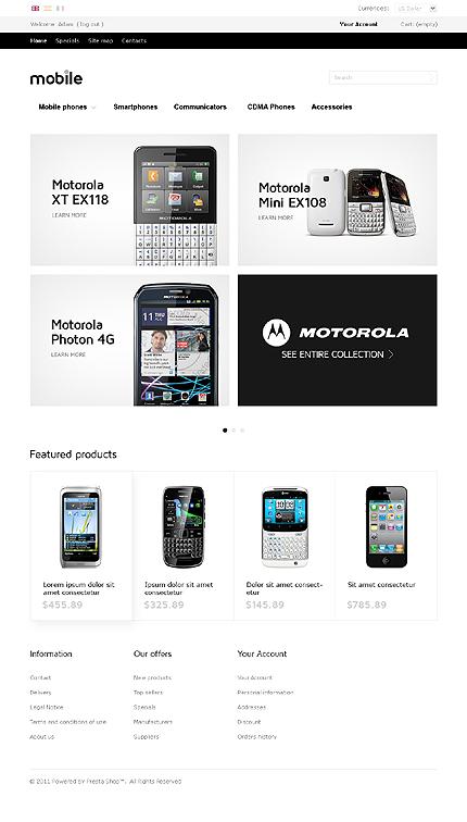 ADOBE Photoshop Template 35963 Home Page Screenshot