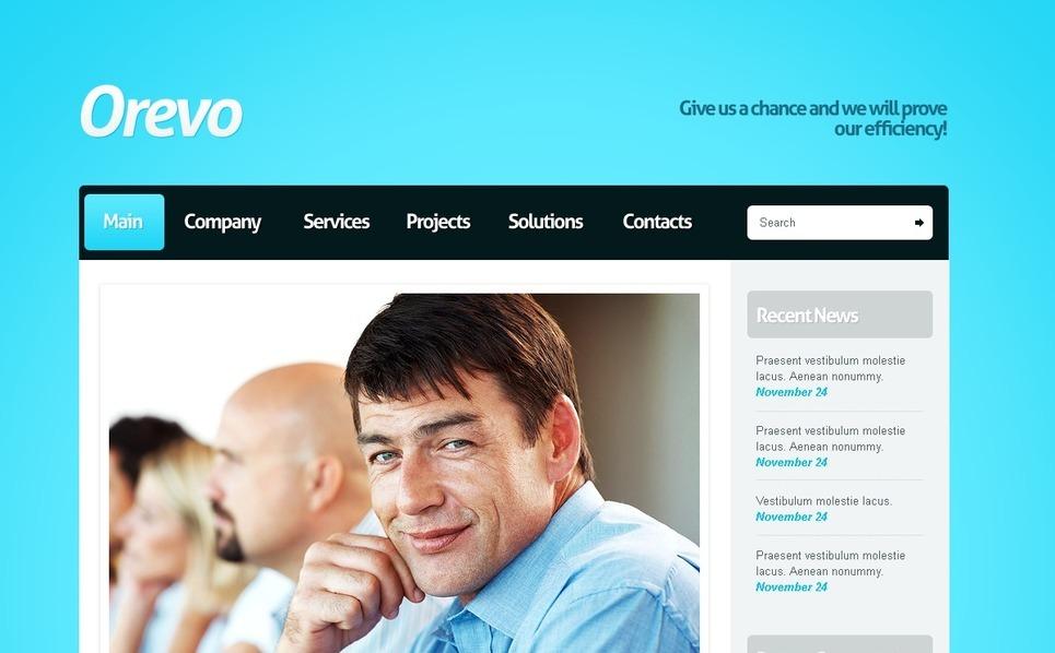 Drupal Vorlage für Business und Dienstleistungen New Screenshots BIG