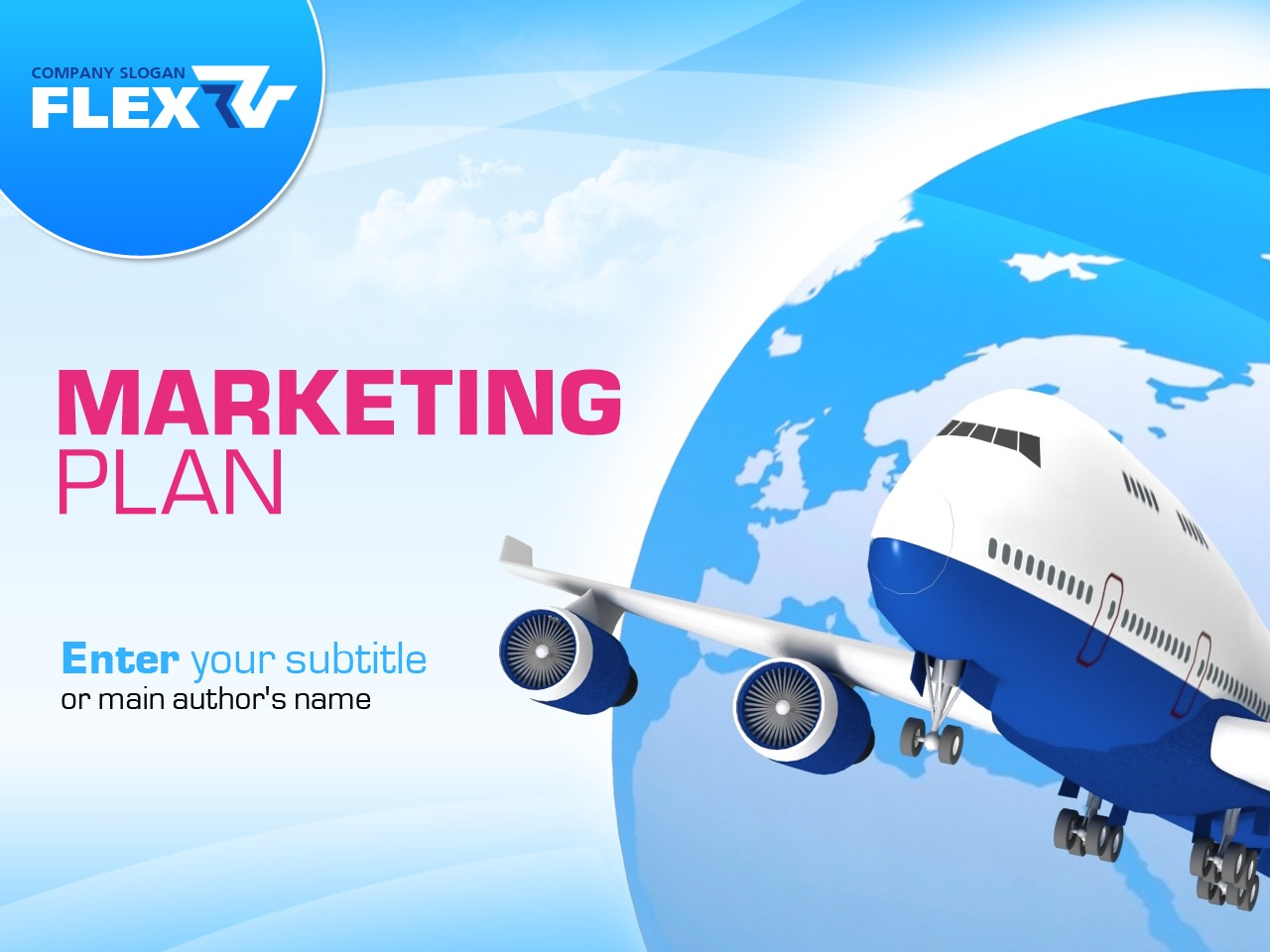 Marketing Agency PowerPoint Template - screenshot