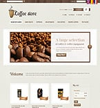 Cafe & Restaurant PrestaShop Template 36159