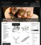 Jewelry PrestaShop Template 36160
