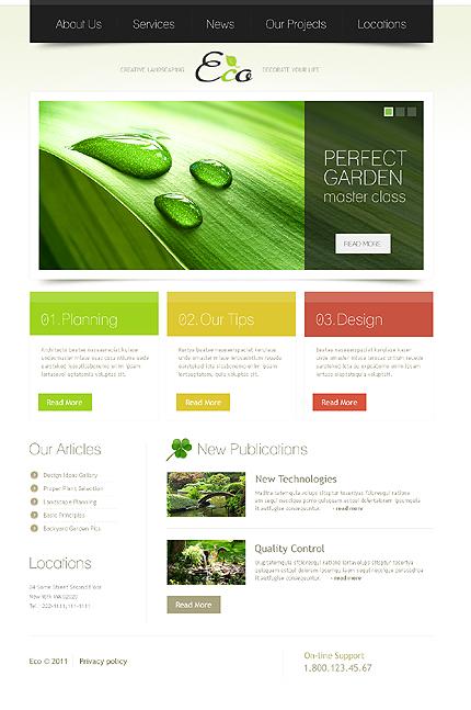 PSD макет сайта №36178