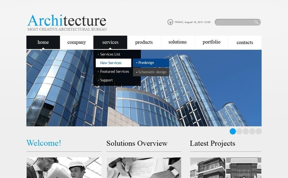 İnşaat Firması  Psd Şablon New Screenshots BIG
