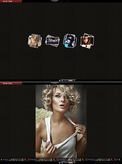 ADOBE Photoshop Template 36256 Home Page Screenshot