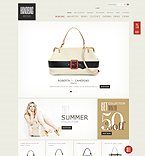 Fashion ZenCart  Template 36351
