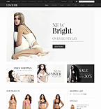 Fashion ZenCart  Template 36352