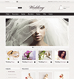 Wedding ZenCart  Template 36353