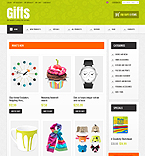 Gifts ZenCart  Template 36354