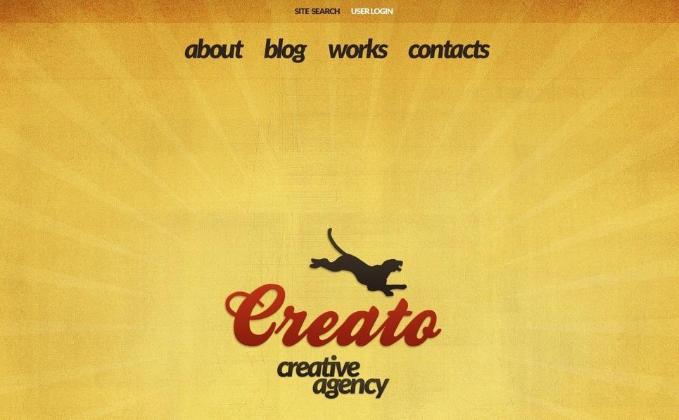 Reklámügynökségek Drupal sablon New Screenshots BIG