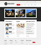 Real Estate PSD  Template 36499