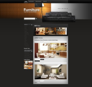 Furniture Drupal Template