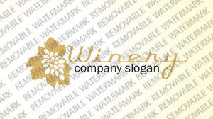 Winery Logo Template #36466
