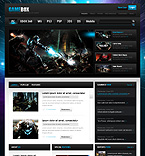Games PSD  Template 36500