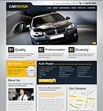Cars PSD  Template 36502