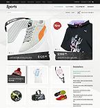 Sport ZenCart  Template 36585