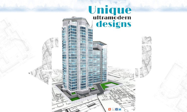 Architecture Facebook Template New Screenshots BIG
