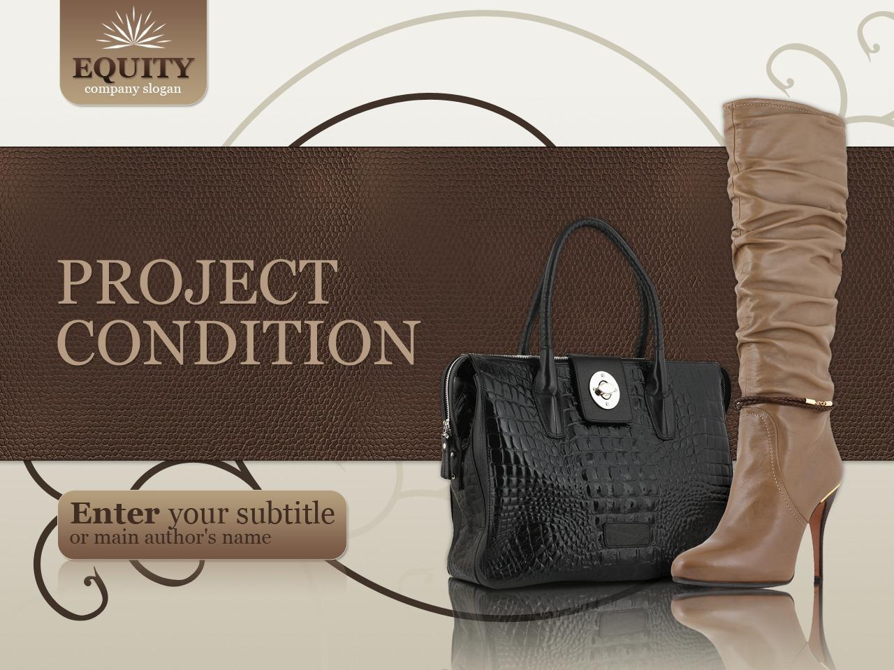 Fashion Store PowerPoint Template - screenshot
