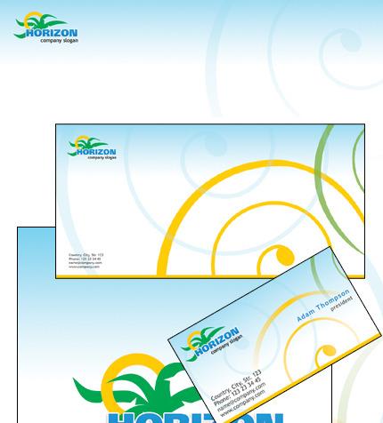 Plantilla de Identidad Corporativa #36543 para Sitio de Agencias de ...
