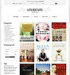 Books PrestaShop Template 36664