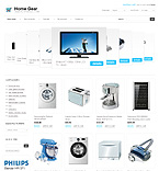 Electronics osCommerce  Template 36712
