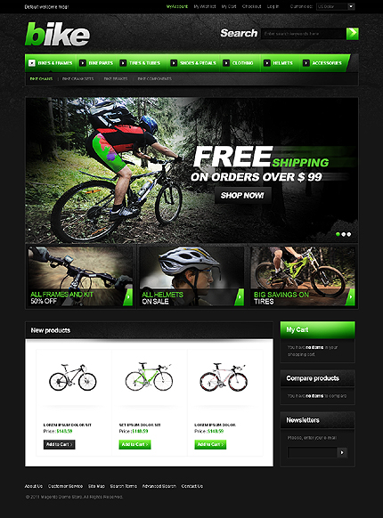 Wide Templates Magento Theme