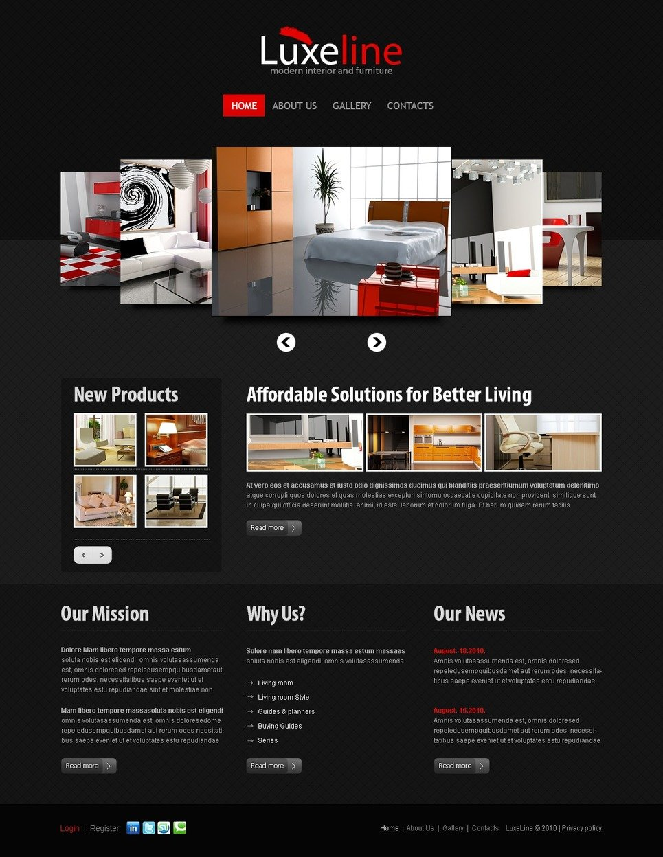 th me joomla 36751 pour site d 39 int rieur et de meubles. Black Bedroom Furniture Sets. Home Design Ideas