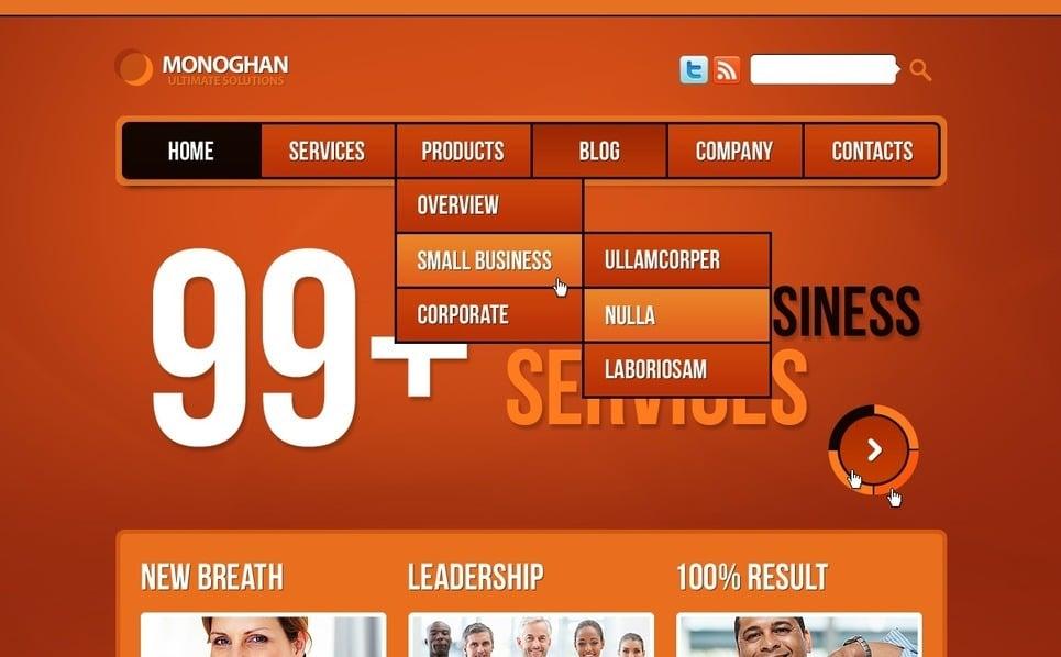 Szablon Drupal #36756 na temat: biznes i usługi New Screenshots BIG