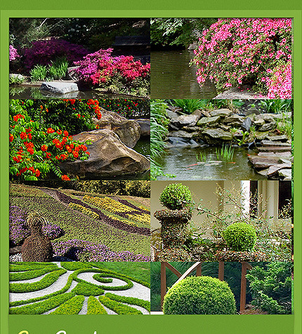 garden design facebook flash template facebook screenshot - Garden Design Template