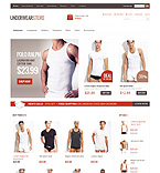 Fashion ZenCart  Template 36809