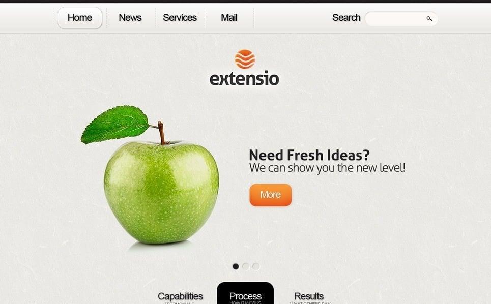 Drupal шаблон №36835 на тему Бизнес и услуги New Screenshots BIG