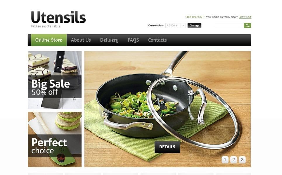 Template virtuemart per un sito di articoli per la casa for Articoli per la casa shop online
