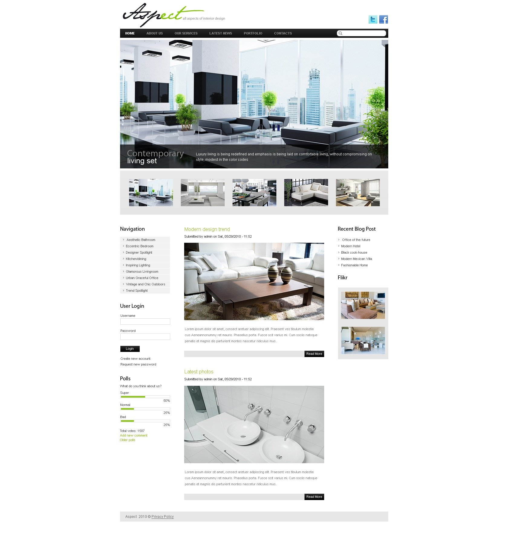 Th me drupal 36834 pour site de design int rieur for Site de design interieur