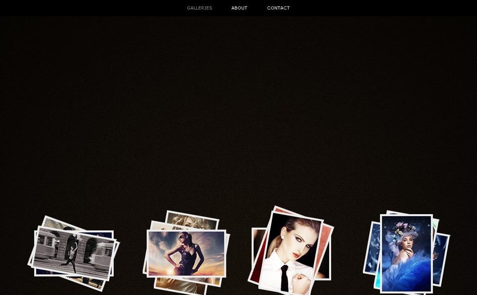 Шаблон фото галереи №36906 на тему  портфолио фотографа New Screenshots BIG