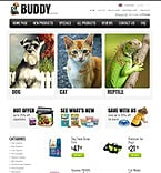 Animals & Pets ZenCart  Template 36964