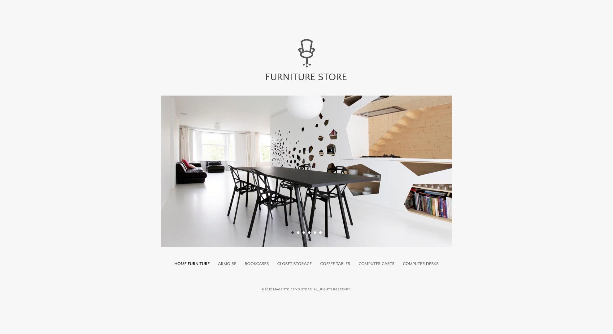 Furniture Magento Theme - screenshot