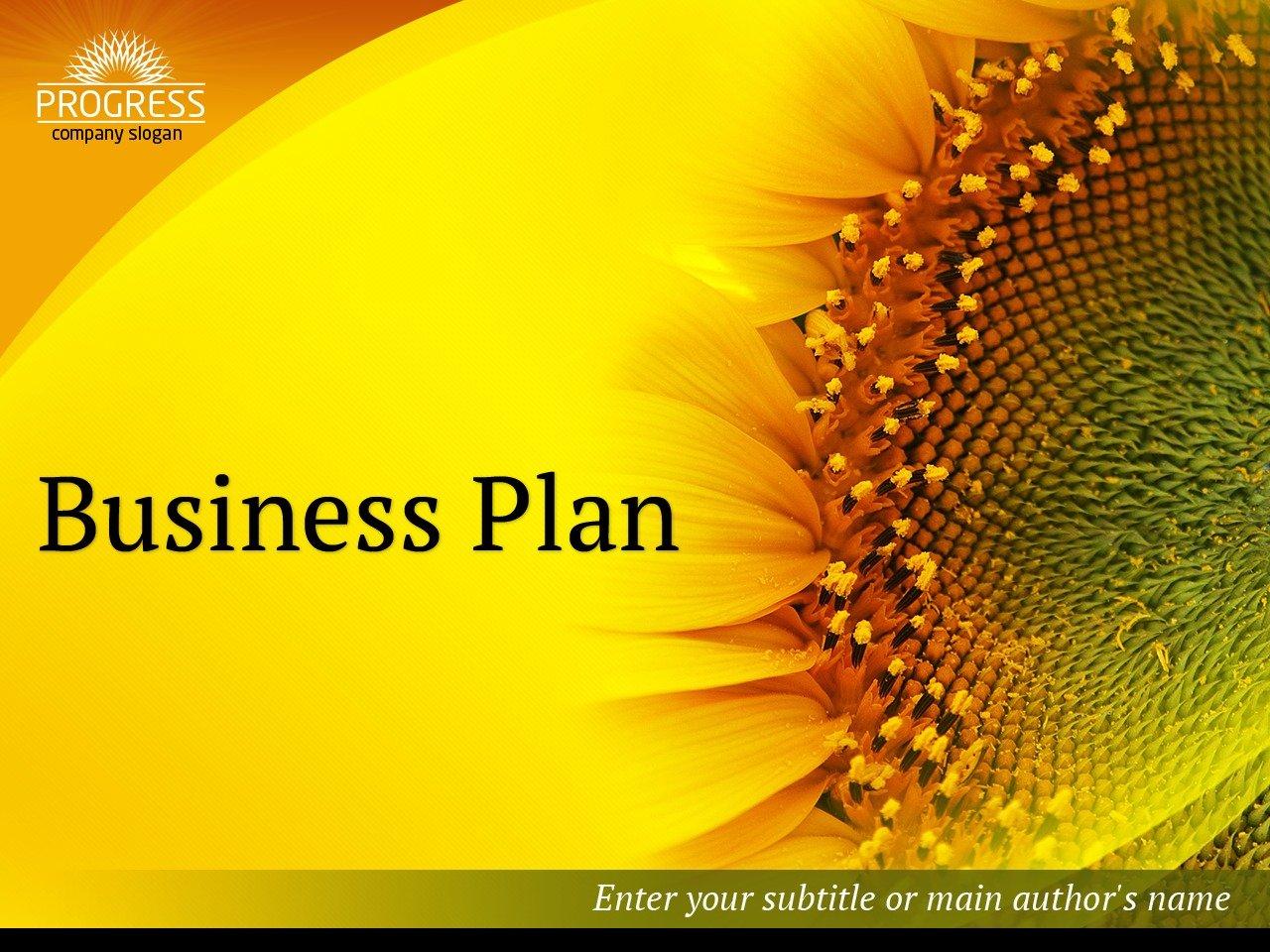 商业与服务PowerPoint 模板 #36990