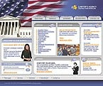 denver style site graphic designs politics party president government elections lawyer agency