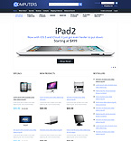 Computers osCommerce  Template 37001