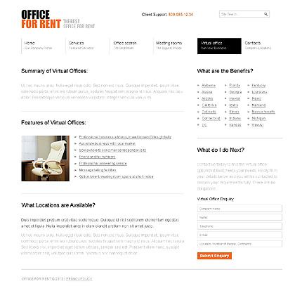 Template 37015 ( Virtual Office Page ) ADOBE Photoshop Screenshot